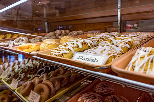 Donuts and danish options